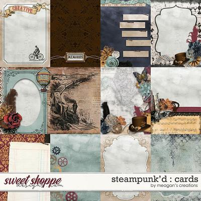 Steampunk'd : Cards by Meagan's Creations