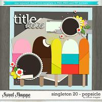 Brook's Templates - Singleton 20 - Popsicle by Brook Magee