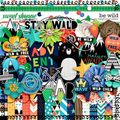 *FWP* Be Wild-Kit by Meghan Mullens