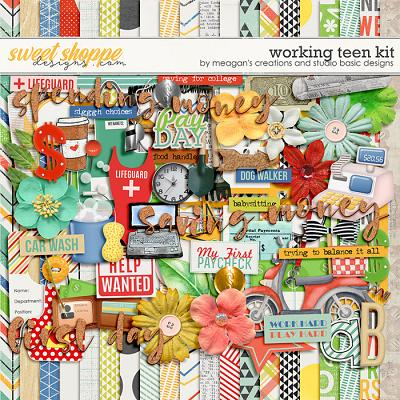 Working Teen : Kit by Meagan's Creations & Studio Basic Designs