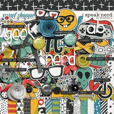 I Speak Nerd by Amanda Yi