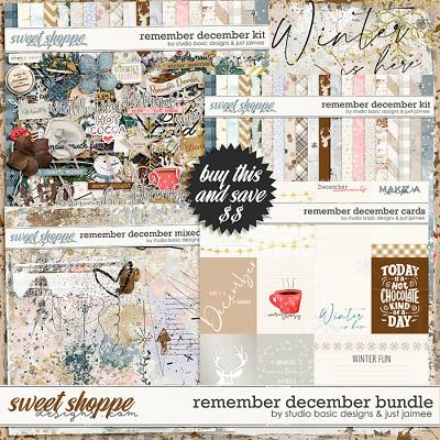 Remember December Bundle by Studio Basic and Just Jaimee
