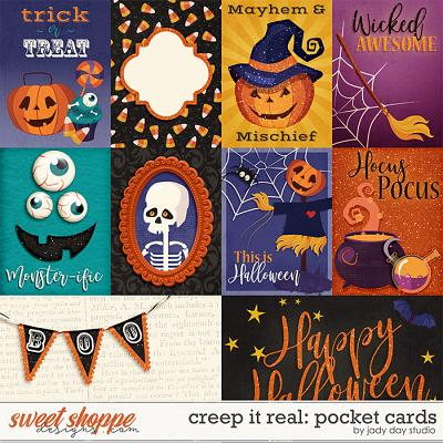 Creep It Real Pocket Cards by Jady Day Studio