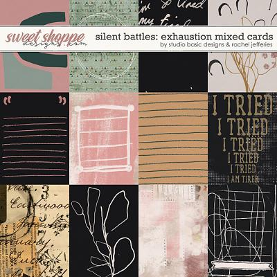 Silent Battles: Exhaustion - Cards by Studio Basic Designs & Rachel Jefferies