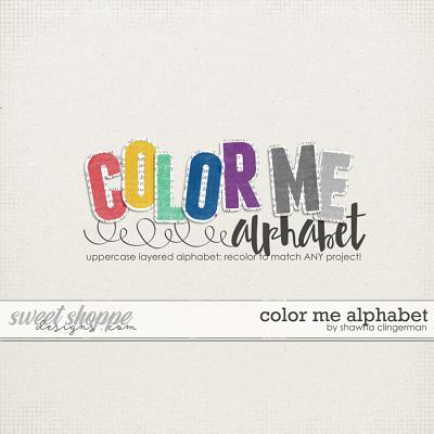 Color Me Alphabet by Shawna Clingerman