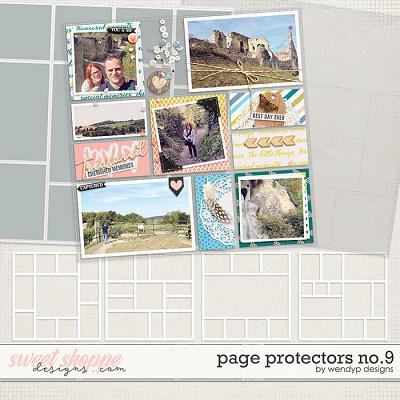 Page Protectors No.9 by WendyP Designs