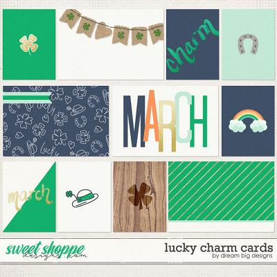 Lucky Charm Cards by Dream Big Designs
