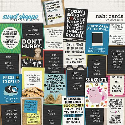 Nah: Cards by Erica Zane