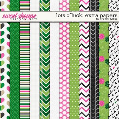 Lots O´Luck :: Extra Papers by Two Tiny Turtles