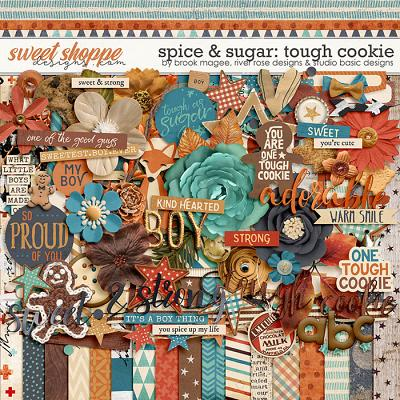 Spice & Sugar: Tough Cookie Kit by Brook Magee, River Rose and Studio Basic