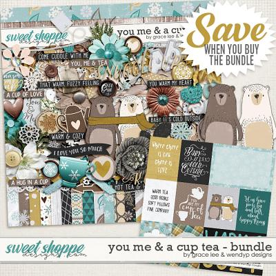 You Me And A Cup of Tea: Bundle by Grace Lee and WendyP Designs