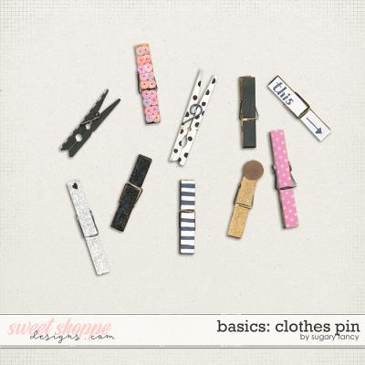 Basics - Clothes Pin by Sugary Fancy