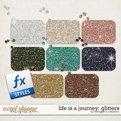 Life is a Journey: Glitters by Meagan's Creations