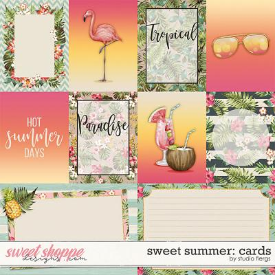 Sweet Summer: CARDS by Studio Flergs