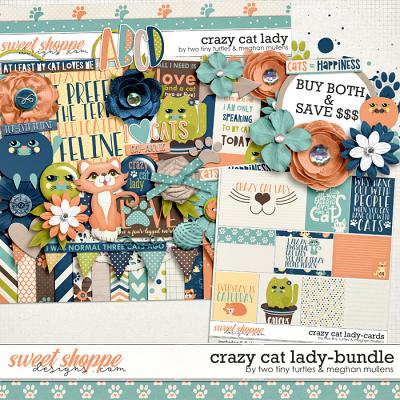 Crazy Cat Lady :: Bundle by Meghan Mullens & Two Tiny Turtles