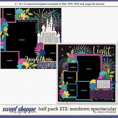 Cindy's Layered Templates - Half Pack 272: Sundown Spectacular by Cindy Schneider