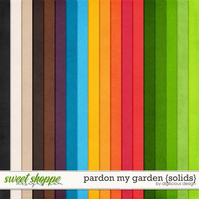Pardon My Garden {Solids} by Digilicious Design