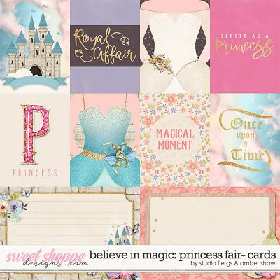 Believe In Magic: Princess Fair: Cards by Amber Shaw & Studio Flergs