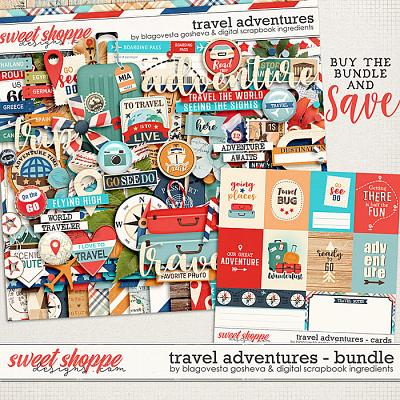 Travel Adventures {bundle} by Blagovesta Gosheva & Digital Scrapbook Ingredients