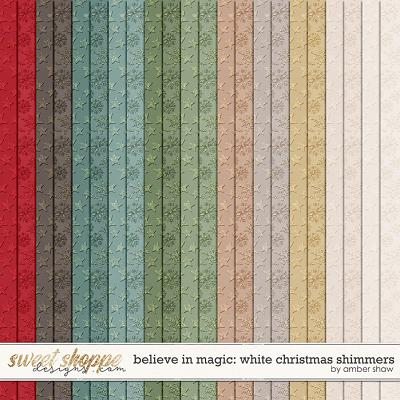 Believe in Magic: White Christmas Shimmers by Amber Shaw