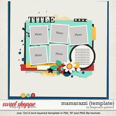 Mamarazzi {layered template} by Blagovesta Gosheva