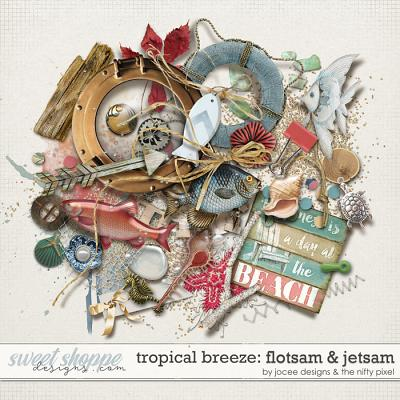 Tropical Breeze Flotsam and Jetsam by JoCee Designs and The Nifty Pixel