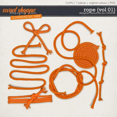 Rope {Vol 01} by Christine Mortimer
