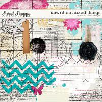 Unwritten Mixed Things by Studio Basic