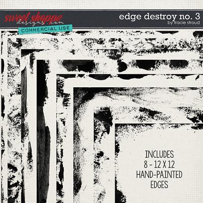 CU Edge Destroy no. 3 by Tracie Stroud