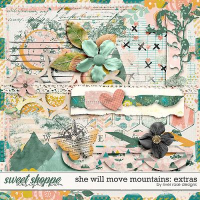 She Will Move Mountains: Extras by River Rose Designs