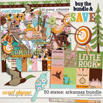50 States: Arkansas Bundle by Kelly Bangs Creative