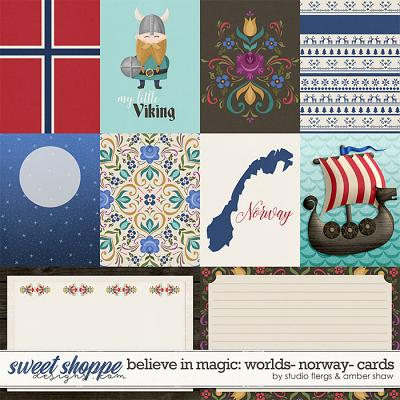 Believe in Magic: Worlds - Norway Cards by Amber Shaw & Studio Flergs