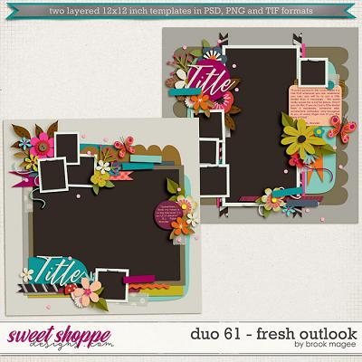 Brook's Templates - Duo 61 - Fresh Outlook by Brook Magee