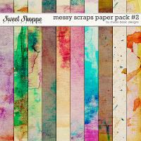 Messy Scraps Paper Pack #2 by Studio Basic
