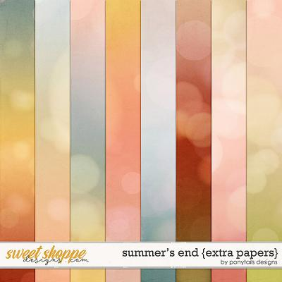 Summer's End Extra Papers by Ponytails