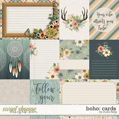 Boho: CARDS by Studio Flergs