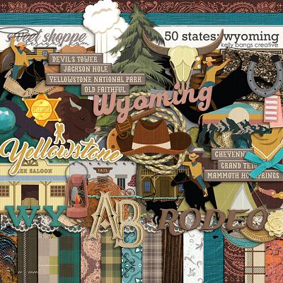 50 States: Wyoming by Kelly Bangs Creative