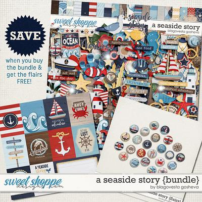 A Seaside Story {bundle} & FREE flairs by Blagovesta Gosheva
