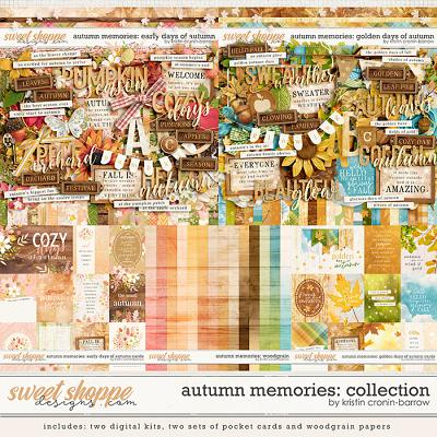 Autumn Memories: Collection by Kristin Cronin-Barrow