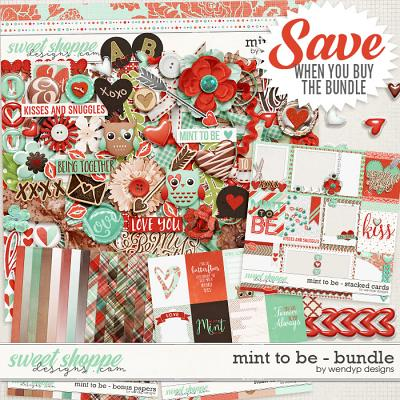 Mint to be - Bundle by WendyP Designs