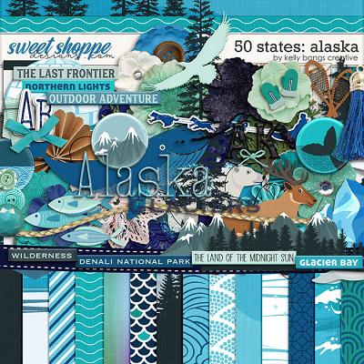 50 States: Alaska by Kelly Bangs Creative