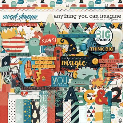 Anything You Can Imagine by Shawna Clingerman