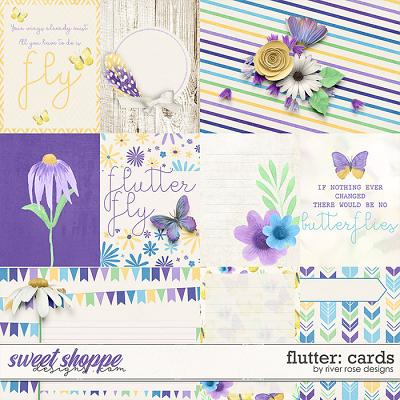 Flutter: Cards by River Rose Designs