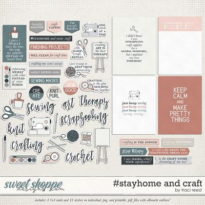 #stayhome and Craft by Traci Reed