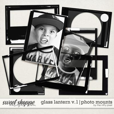 GLASS LANTERN V.1 | PHOTO MOUNTS by The Nifty Pixel
