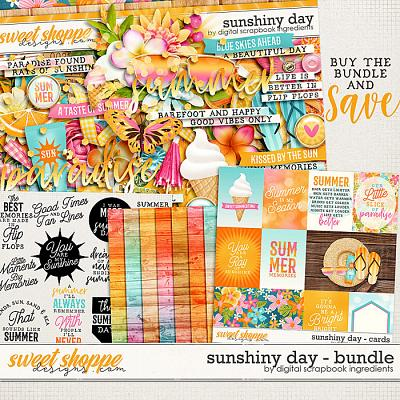 Sunshiny Day Bundle by Digital Scrapbook Ingredients