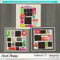 Brook's Templates - Trifecta 17 - Shapely by Brook Magee