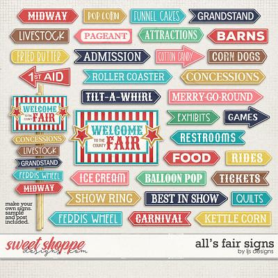 All's Fair Signs by LJS Designs