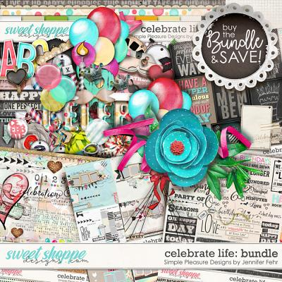 celebrate life bundle: simple pleasure designs by jennifer fehr