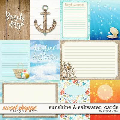 Sunshine & Saltwater: Cards by Amber Shaw